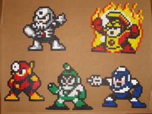 Megaman bead bosses 1