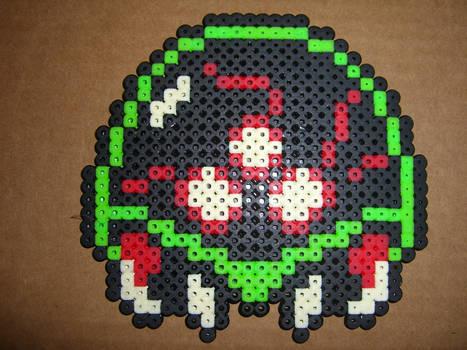 metroid NES bead sprite