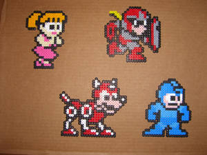 Megaman goodguy bead sprites 1
