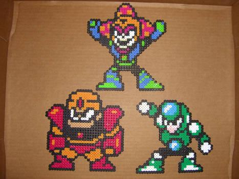 Megaman bead bosses 2
