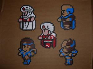 FFII Support character sprites