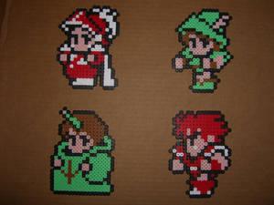 FFIII bead sprites heroes 1