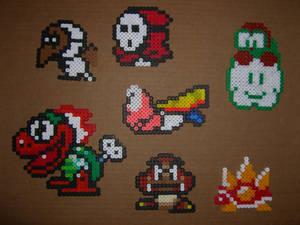 Mario bros bead baddies 1