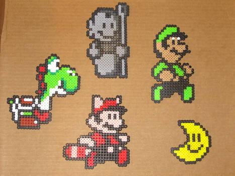 Mario bros beaded goodguys 1