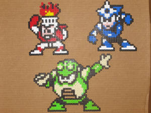 Megaman bead bosses 3