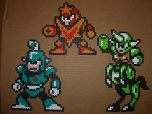 Megaman bead bosses 4