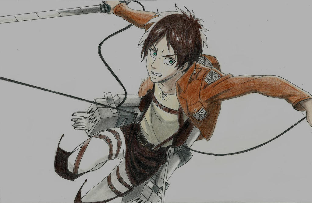 Eren jaeger drawing - photo#53