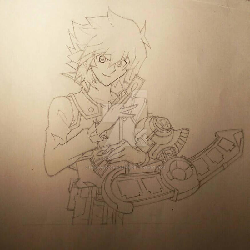 Jesse Anderson (Lineart + WIP) by ShadowofChaos666