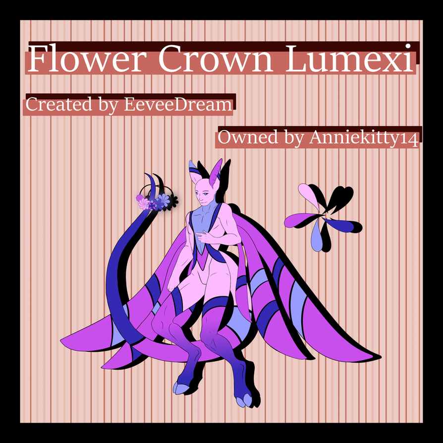 Flower Crown custom Lumexi for Anniekitty14 by EeveeDream
