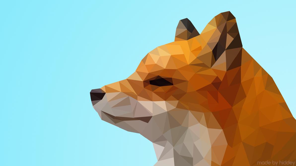 Facet Fox By Hiddey