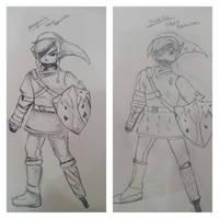 Link Speed Drawing vs 2 People