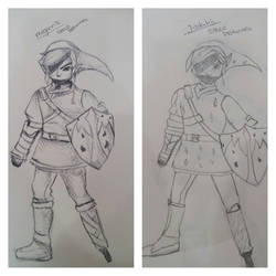 Link Speed Drawing vs 2 People by 0hMai