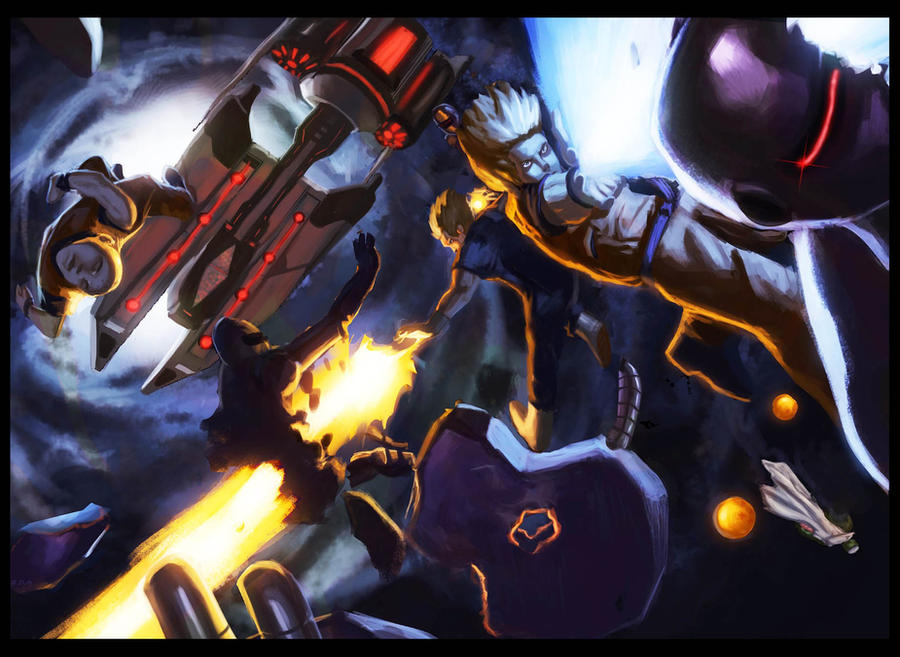 BA: Dragon Ball by damzo