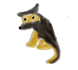 Wolfy's characters German_Shepherd_Hand_Drawn_by_wolfy987