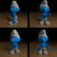 Smurf by AndiDrajan