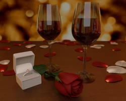Romantic Scene by AndiDrajan