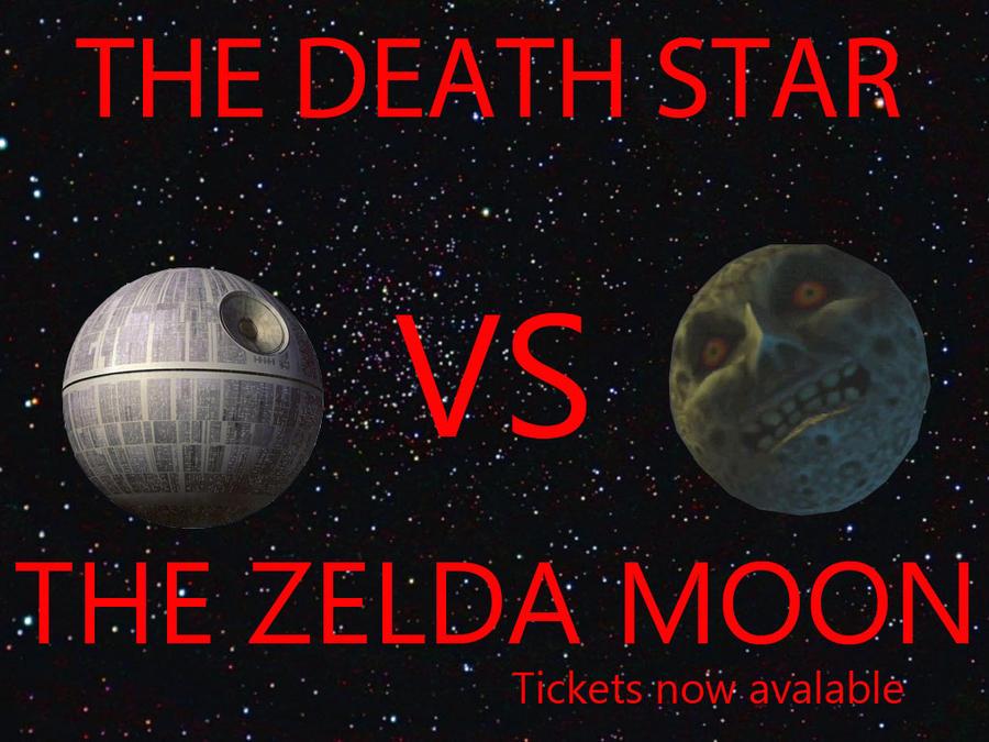 Majoras Mask Moon Giants The death star VS The ...