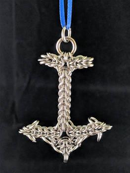 Christmas Anchor Ornament 2018