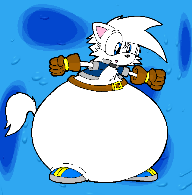 Drew the Wolf Bloatoon by dragovian15