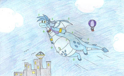 Mananite Takes Flight by dragovian15