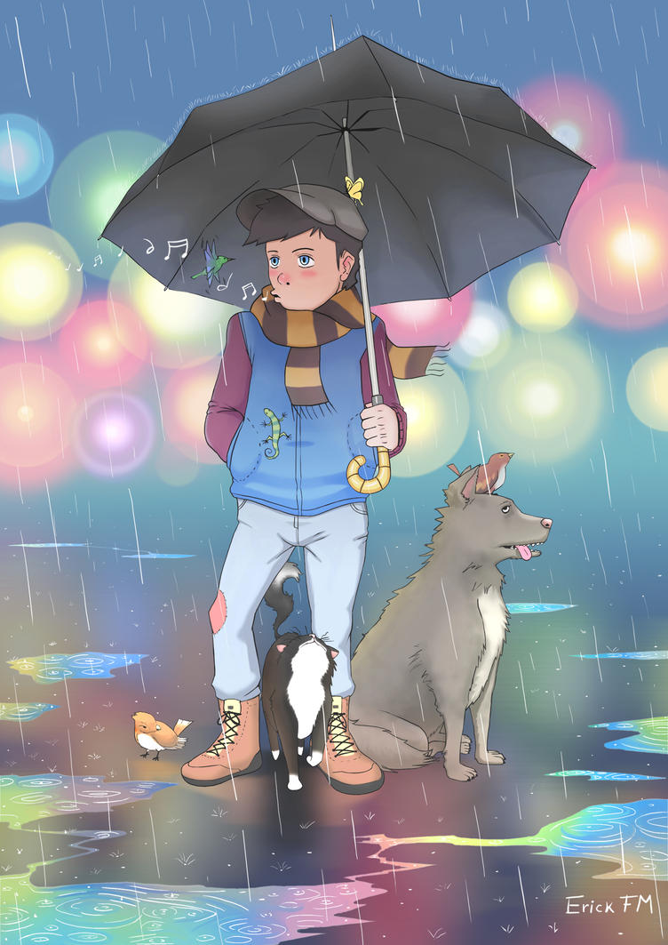 Rain of animals by Erick-FM