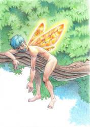 Fairy sleeping