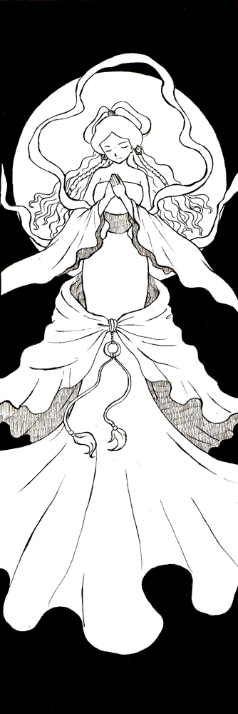 Yue - Moon Saga by canary-309