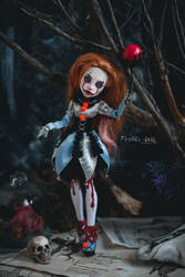 pennywisethedancingclown artdoll by Firexia