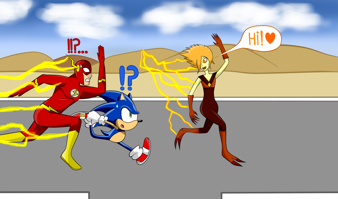 flash vs sonic - photo #7