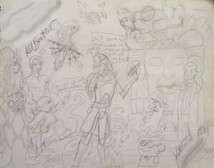 Signed Sketches: Dee Bradley Baker