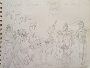 Signed Sketches: Tom Kane