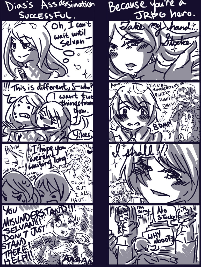 Radiant Historia sidequest comic by Cotton-Keyk