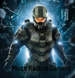 Mega Radical Gamers Halo 4 logo by BigLTbaby