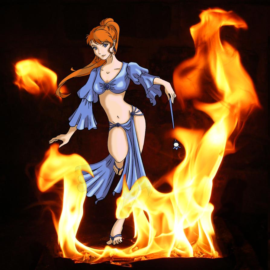 Genie of Fire by qxvw198