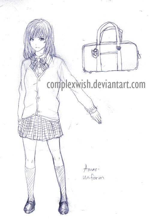 Character Design Manga Pdf : Manga character design amari uniform by complexwish on
