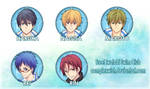 Free! buttons $2 ea.