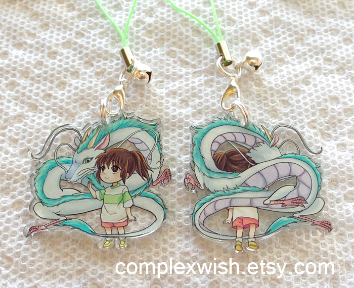 reversible Spirited Away charm by ComplexWish