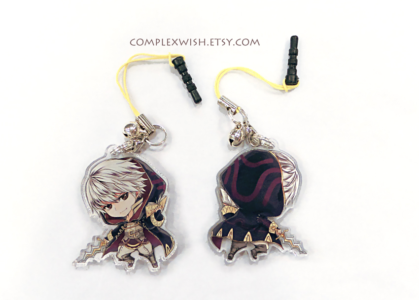Male Robin charm by ComplexWish