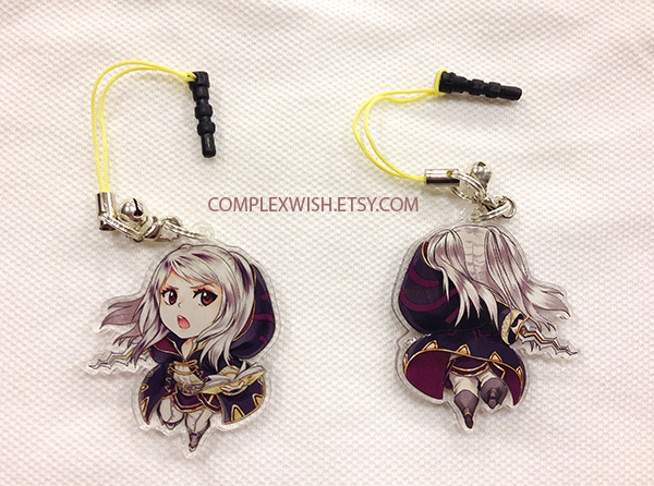 Fire Emblem Awakening - Female Robin charm by ComplexWish