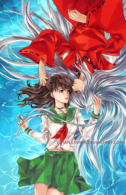 when does inuyasha and kagome start dating Even after they started dating, kagome never even thought of freeing him of the necklace  team kagome, inuyasha was always acting a fool  where do i start with.