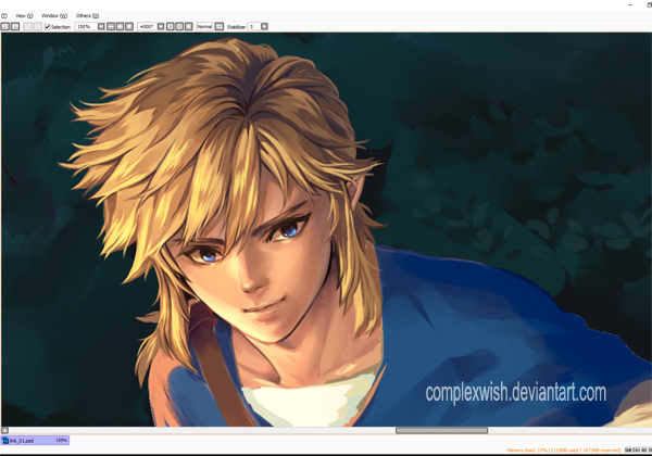 link WIP by ComplexWish