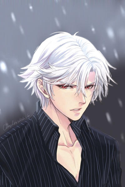 Jumin in Zens hair and eye color by ComplexWish