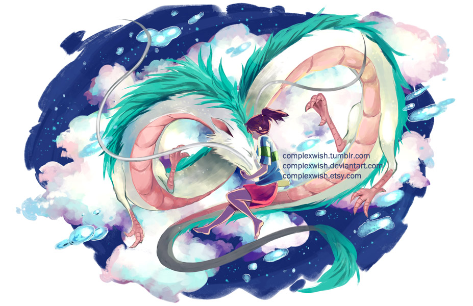 Spirited Away by ComplexWish