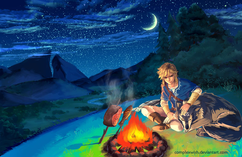 breath of the wild - relaxation and BBQ by ComplexWish