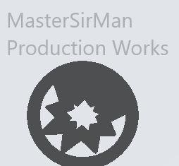 MasterSirMan Production Logo