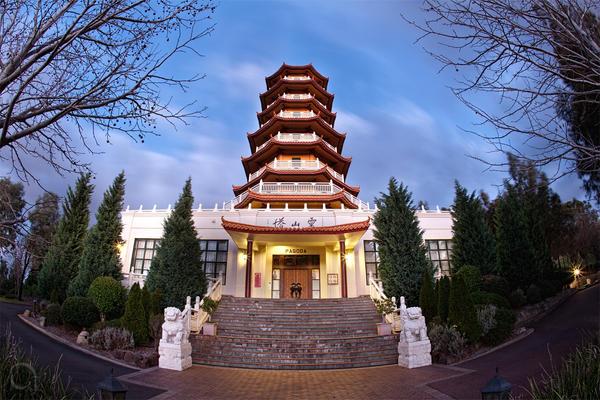 Pagoda by antontang