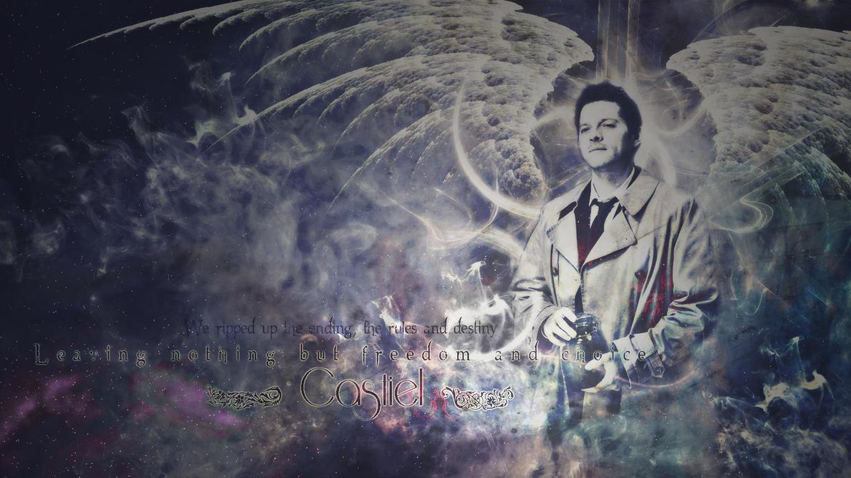 Castiel Wallpaper by ChungLinHo