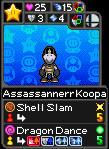 Assassannerr Koopa as a Boos Mansion Trading Card by Assassannerr