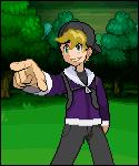 Pokemon trainer Bewks Full body sprite. by Assassannerr