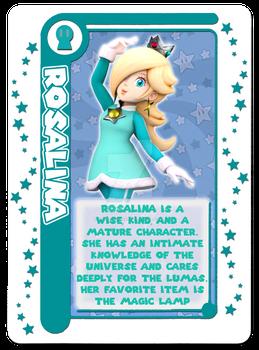 Mario Party Card Game: Rosalina Character Card